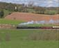 5029 & 70013 on Whiteball bank - 5 April 09